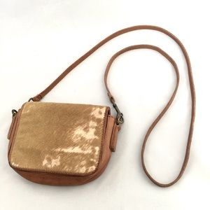 Liebeskind Cow Hide Leather Small Crossbody Bag